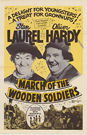 March of the Wooden Soldiers poster