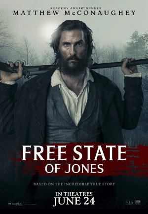 Free State of Jones poster