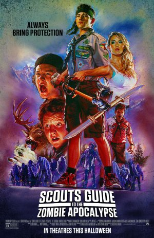 Scouts Guide to the Zombie Apocalypse poster