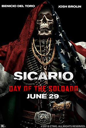 Sicario, Day of the Soldado poster