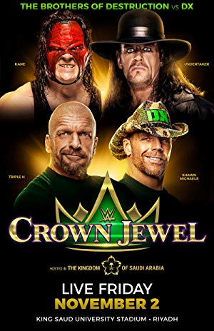 WWE: Crown Jewel poster